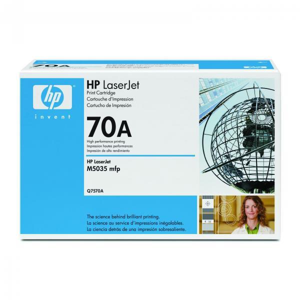 HP originální toner Q7570A, black, 15000str., 70A, HP LaserJet M5025mfp, M5035mfp