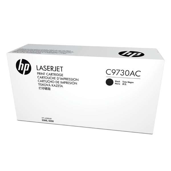 HP originální toner C9730AC, black, 13000str., 645A, HP Color LaserJet 5500, N, DN, HDN, DTN, kontraktový produkt