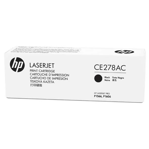 HP originální toner CE278AC, black, 2100str., 78A, HP LaserJet Pro P1566, M1536, kontraktový produkt