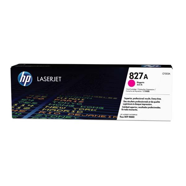 HP originální toner CF303A, magenta, 32000str., 827A, HP Color LaserJet MFP M880z, 850g