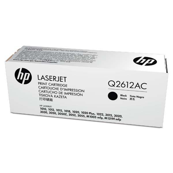 HP originální toner Q2612AC, black, 2000str., 12A, HP LaserJet 1010, 1012, 1015, 1020, 1022, 3015, 3020, kontraktový produkt