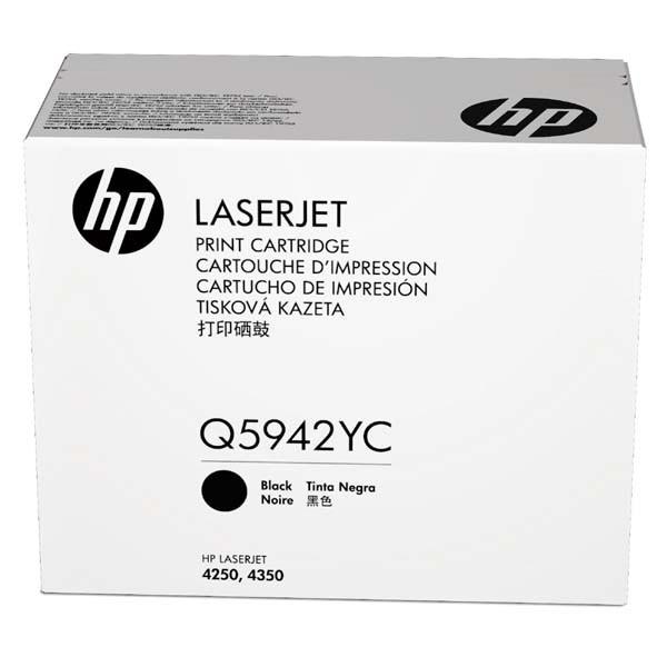 HP originální toner Q5942YC, black, 23000str., extra high capacity, HP LaserJet 4250, 4350, kontraktový produkt