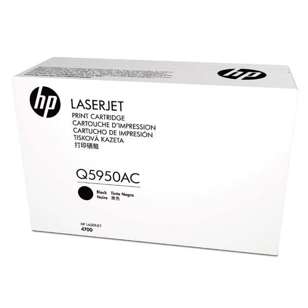 HP originální toner Q5950AC, black, 11000str., HP Color LaserJet 4700, n, dn, dtn, ph+, kontraktový produkt