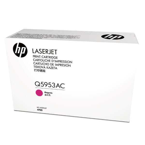 HP originální toner Q5953AC, magenta, 10000str., HP HP Color LaserJet 4700, HP Color LaserJet 4700DN, kontraktový produkt