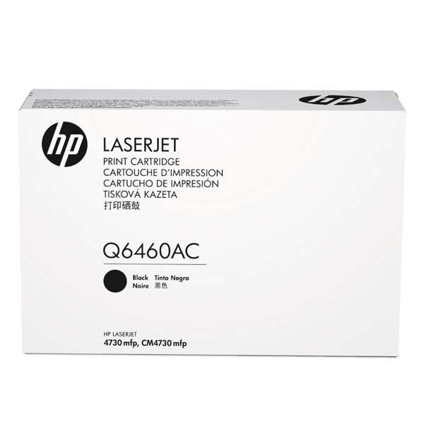 HP originální toner Q6460AC, black, 12000str., HP Color LaserJet 4730mfp, 4730x, xm, xs, kontraktový produkt