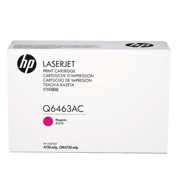 HP originální toner Q6463AC, magenta, 12000str., HP Color LaserJet 4730mfp, 4730x, xm, xs, kontraktový produkt