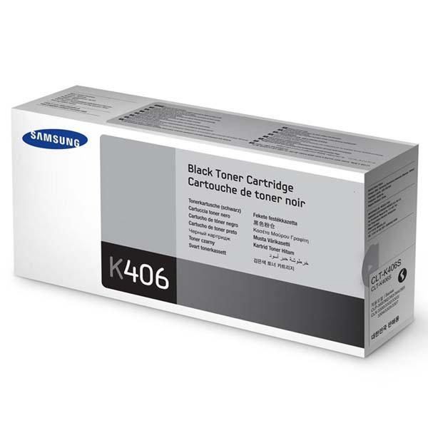 Samsung originální toner CLT-K406S, black, 1500str., Samsung CLP-360, 365, CLX-3300, 3305
