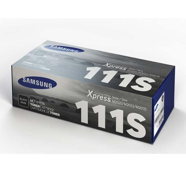 Samsung originální toner MLT-D111S, black, 1000str., Samsung M2020, M2022, M2070