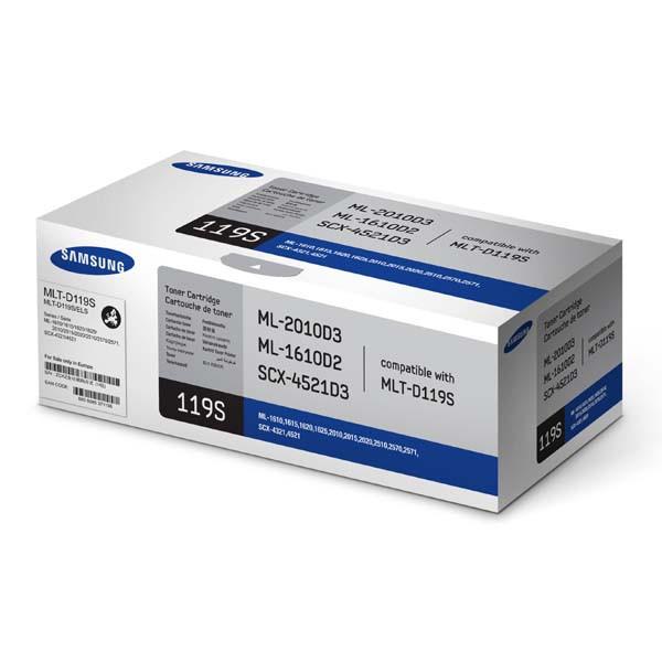 Samsung originální toner MLT-D119S, black, 2000str., Samsung ML-1610, 2010, 2510, 2570, SCX-4321, 4521