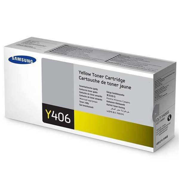 Samsung originální toner CLT-Y406S, yellow, 1000str., Samsung CLP-360, 365, CLX-3300, 3305