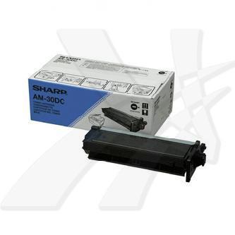 Sharp originální toner AM-30DC, black, 3000str., Sharp AM30DC: AM-400