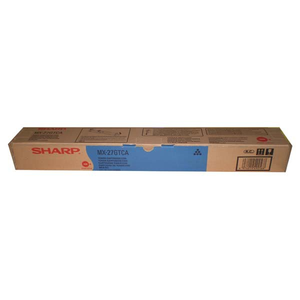 Sharp originální toner MX-23GTCA, cyan, 10000str., Sharp MX-2010U, MX-2310U, MX-2314N, MX-3111U, MX-2614N
