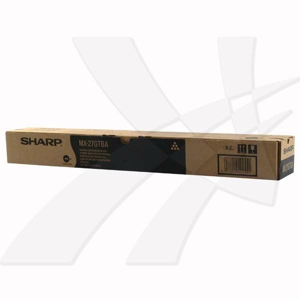 Sharp originální toner MX-27GTBA, black, 18000str., Sharp MX 2300N, 2700N