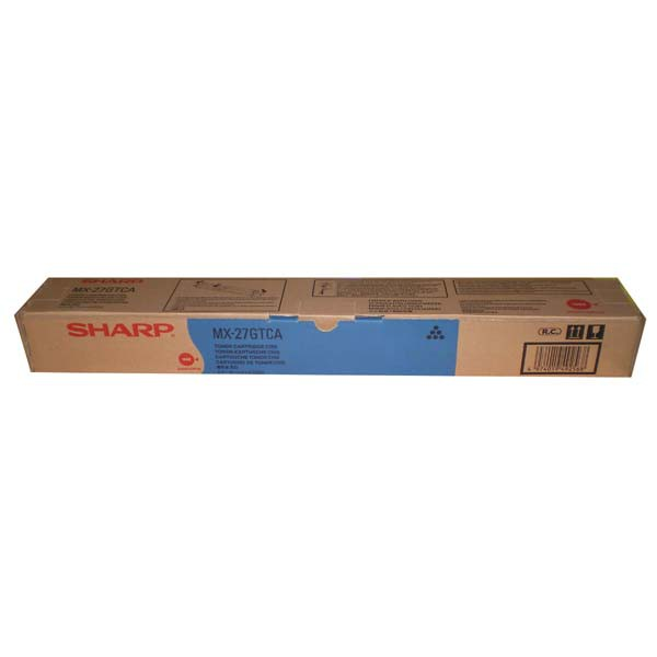 Sharp originální toner MX-27GTCA, cyan, 15000str., Sharp MX 2300N, 2700N