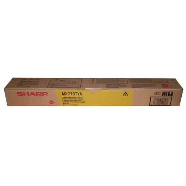 Sharp originální toner MX-27GTYA, yellow, 15000str., Sharp MX 2300N, 2700N