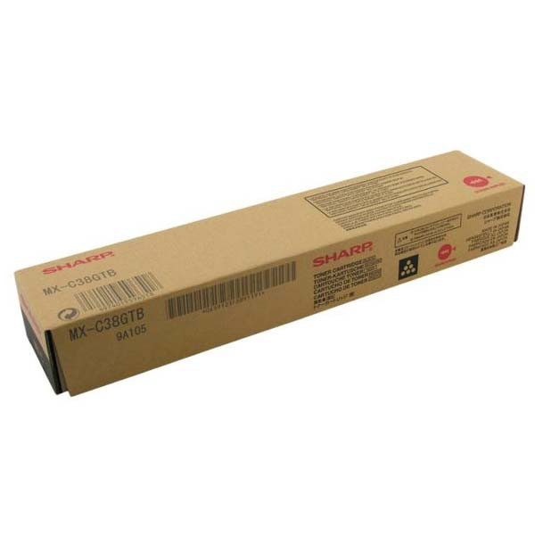 Sharp originální toner MX-C38GTB, black, 10000str., Sharp MXC 310, 311, 380, 381