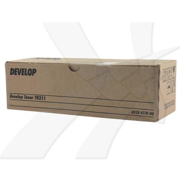 Develop originální toner 8938417, black, 17500str., TN-211, Develop Ineo 250, 360g
