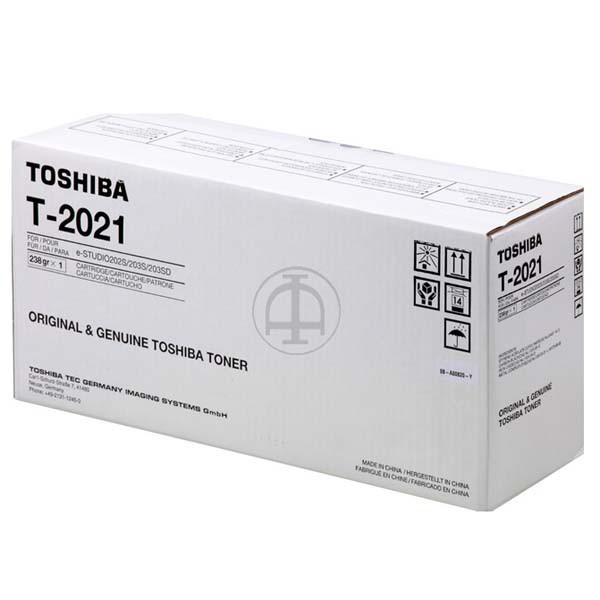 Toshiba originální toner T2021, black, 6B000000192, Toshiba e-studio 202S, 203S
