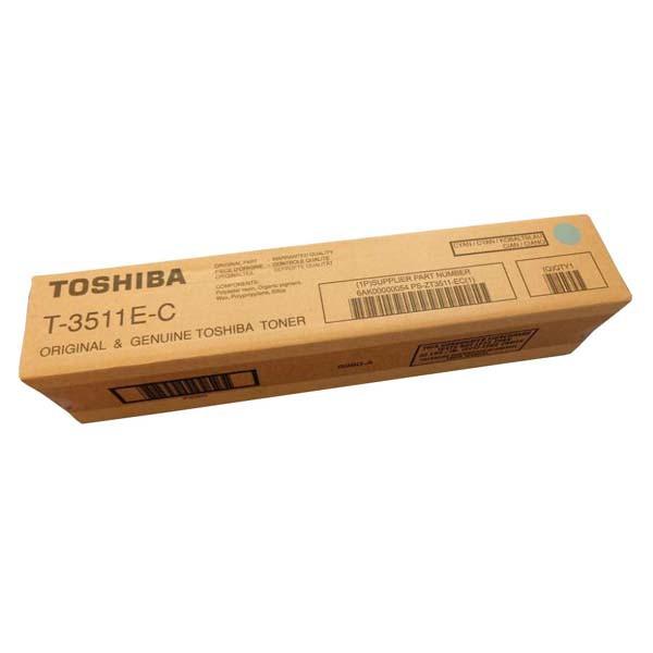 Toshiba originální toner T3511E, cyan, 40000str., Toshiba e-studio 3511, 4511
