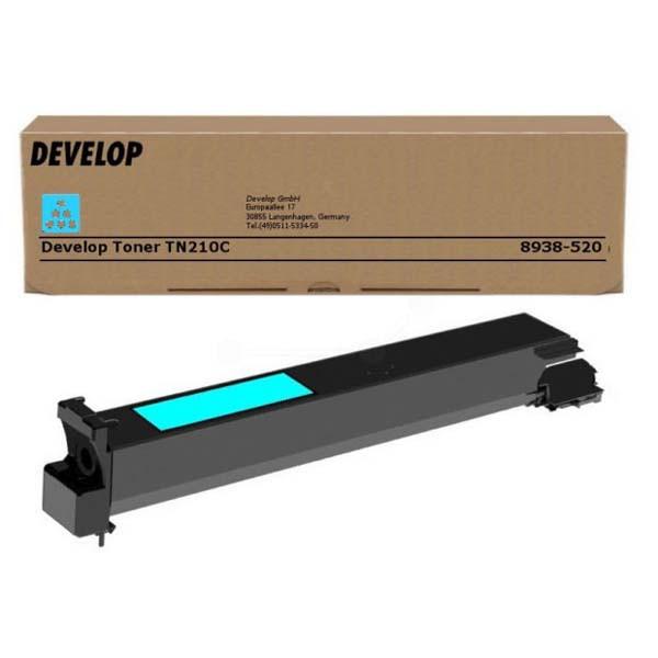 Develop originální toner 8938520, cyan, 12000str., TN-210C, Develop Ineo +250, 260g