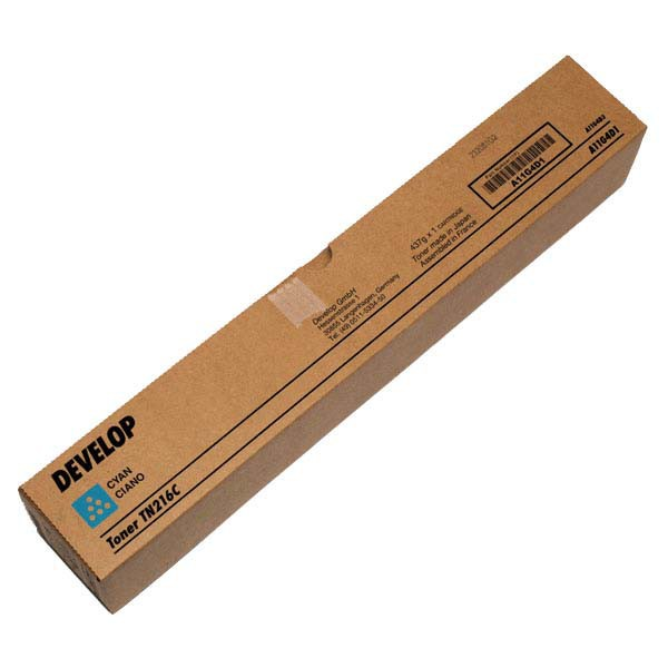 Develop originální toner A11G4D1, cyan, 26000str., TN-216C, Develop Ineo +220, +280