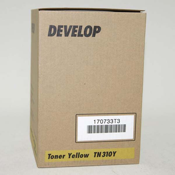Develop originální toner 4053 5050 00, yellow, 11500str., TN-310Y, Develop QC-2235+