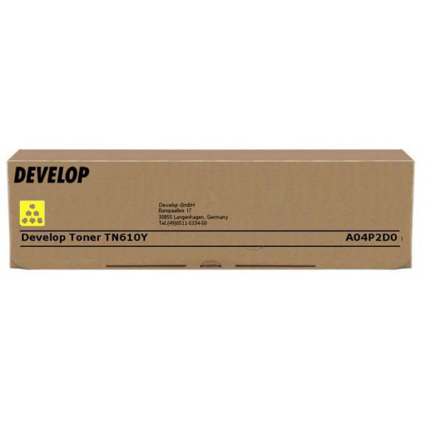 Develop originální toner A04P2D0, yellow, 24000str., TN-610Y, Develop Ineo +6500