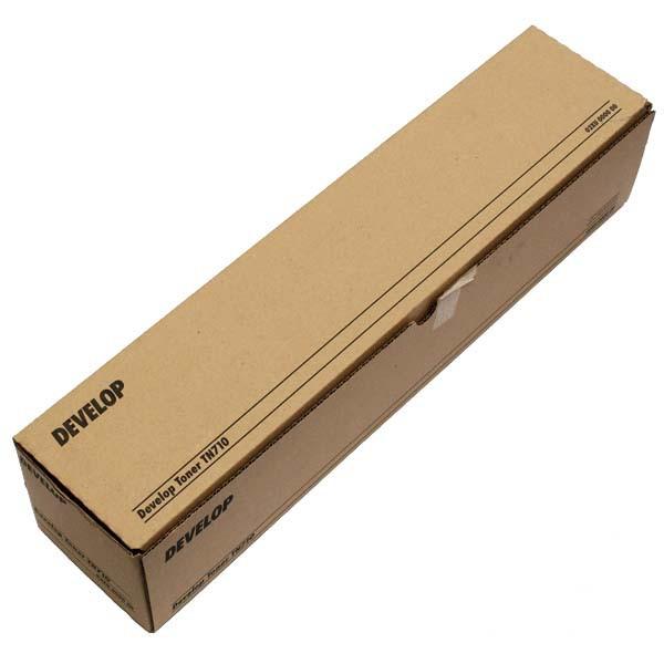 Develop originální toner 02XU, black, 55000str., TN-710, Develop Ineo +601, +751, +600, +750, 1160g