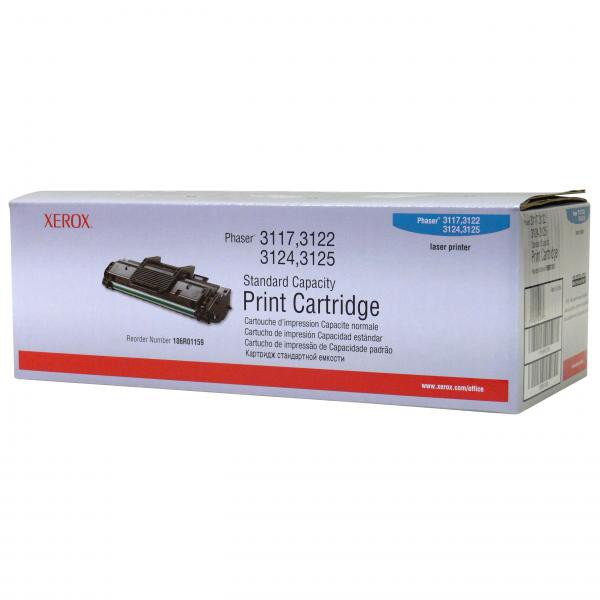 Xerox originální toner 106R01159, black, 3000str., Xerox Phaser 3117, 3122, 3124, 3125
