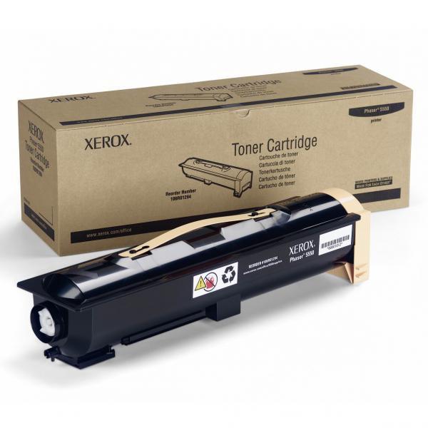 Xerox originální toner 106R01294, black, 30000str., Xerox Phaser 5550