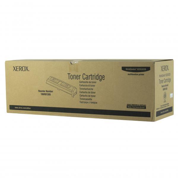 Xerox originální toner 106R01305, black, 30000str., Xerox WorkCentre 5225, 5230