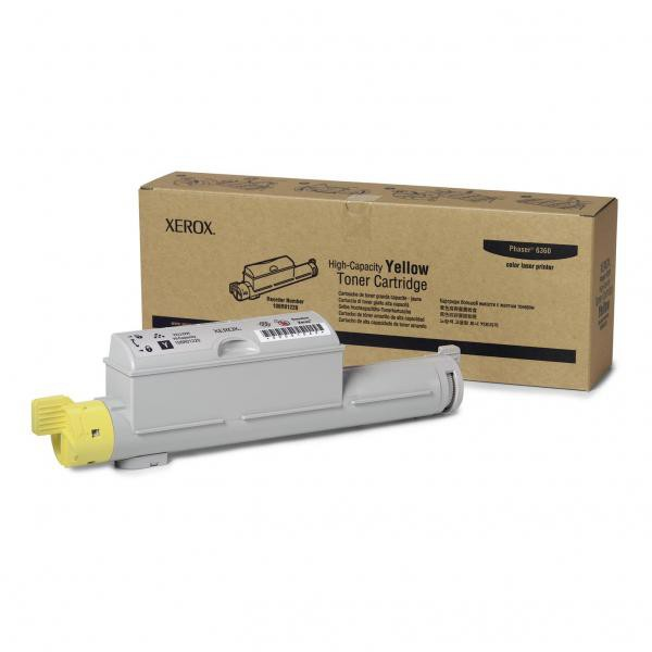 Xerox originální toner 106R01220, yellow, 12000str., Xerox Phaser 6360