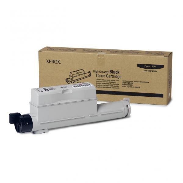 Xerox originální toner 106R01221, black, 18000str., Xerox Phaser 6360
