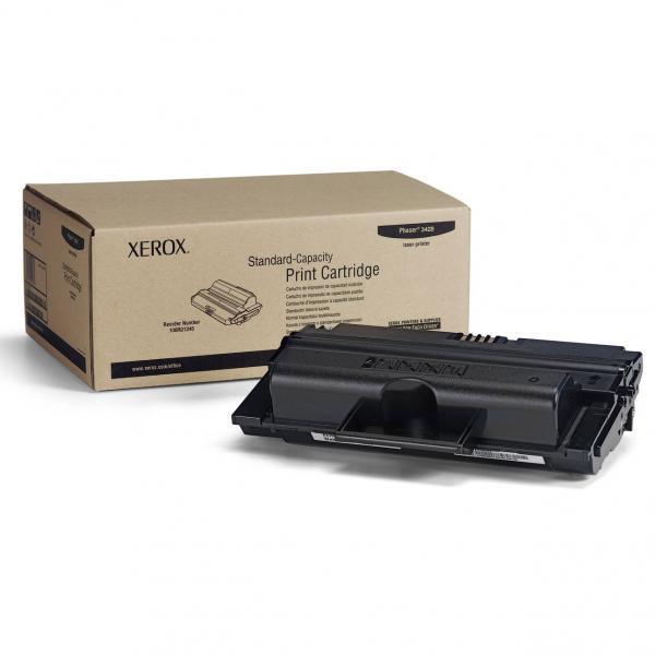 Xerox originální toner 106R01245, black, 4000str., Xerox Phaser 3428