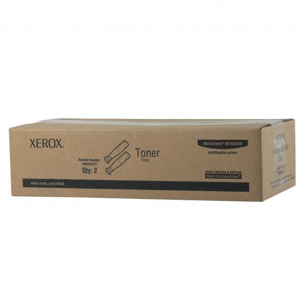 Xerox originální toner 106R01277, black, 2x6300str., Xerox WorkCenter 5016, 5020, 2ks