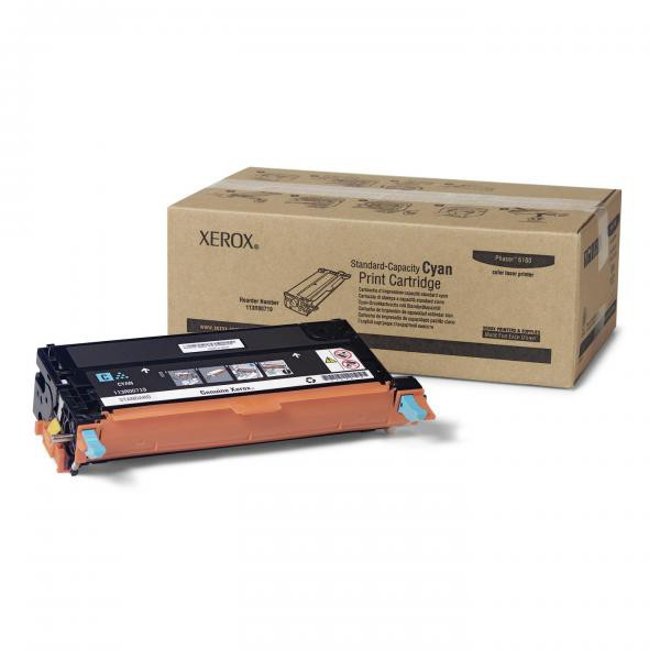 Xerox originální toner 113R00719, cyan, 2000str., Xerox Phaser 6180