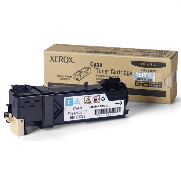 Xerox originální toner 106R01282, cyan, 2000str., Xerox Phaser 6130