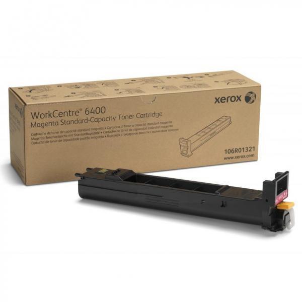 Xerox originální toner 106R01321, magenta, 8000str., Xerox WorkCentre 6400