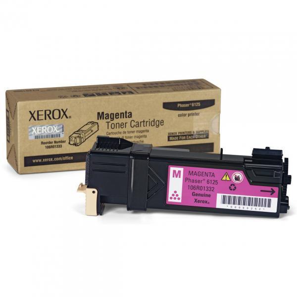 Xerox originální toner 106R01336, magenta, 1000str., Xerox Phaser 6125