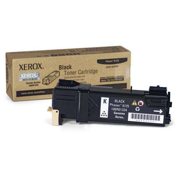 Xerox originální toner 106R01338, black, 2000str., Xerox Phaser 6125