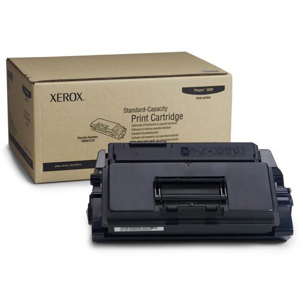 Xerox originální toner 106R01370, black, 7000str., Xerox Phaser 3600