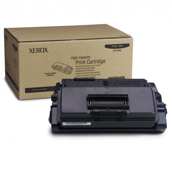 Xerox originální toner 106R01372, black, 20000str., Xerox Phaser 3600