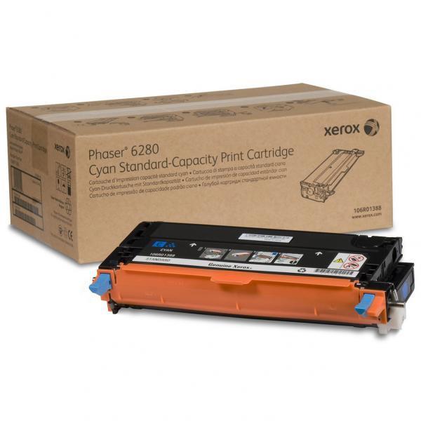 Xerox originální toner 106R01388, cyan, 2200str., Xerox Phaser 6280