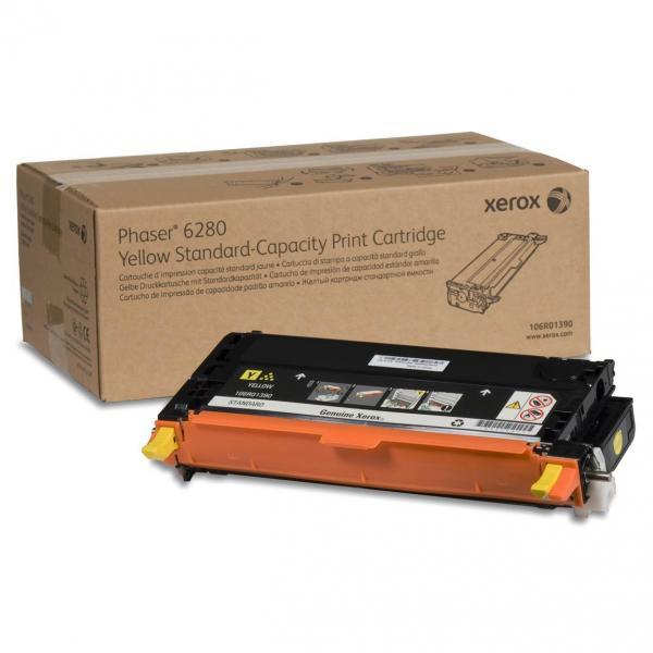 Xerox originální toner 106R01390, yellow, 2200str., Xerox Phaser 6280