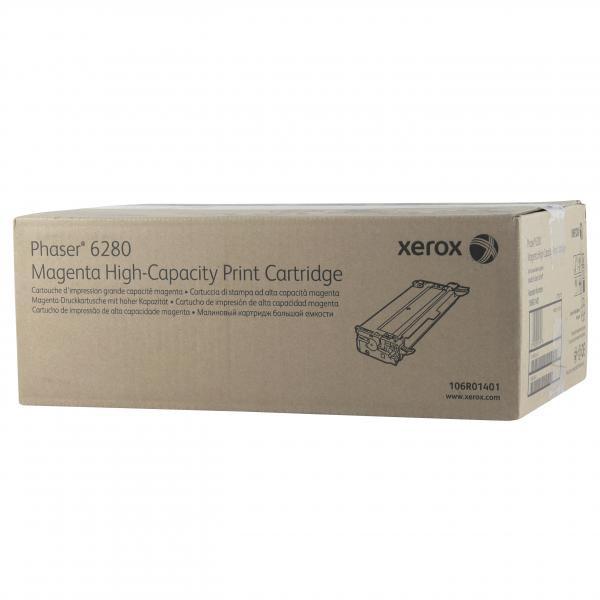Xerox originální toner 106R01401, magenta, 5900str., Xerox Phaser 6280