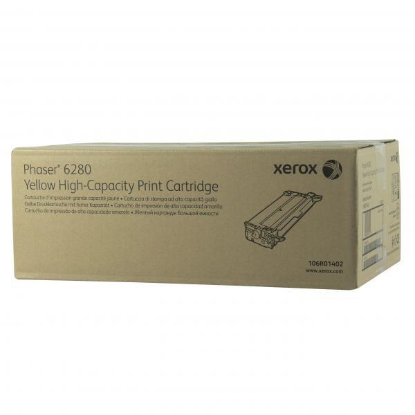 Xerox originální toner 106R01402, yellow, 5900str., Xerox Phaser 6280