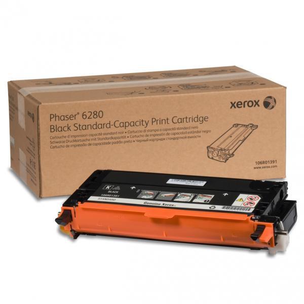 Xerox originální toner 106R01403, black, 7000str., Xerox Phaser 6280