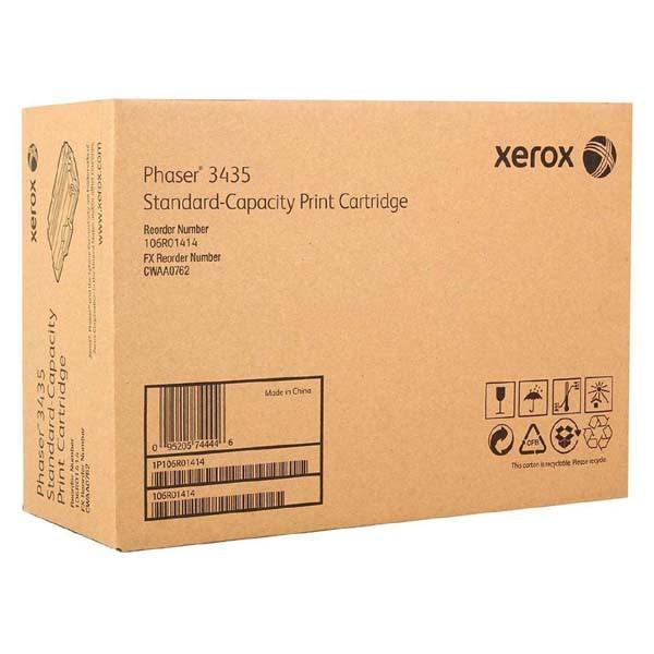 Xerox originální toner 106R01414, black, 4000str., Xerox Phaser 3435