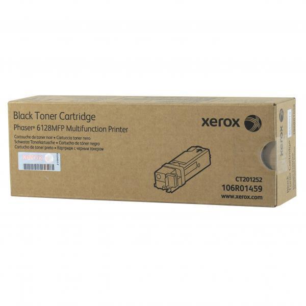 Xerox originální toner 106R01459, black, 3100str., Xerox Phaser 6128MFP