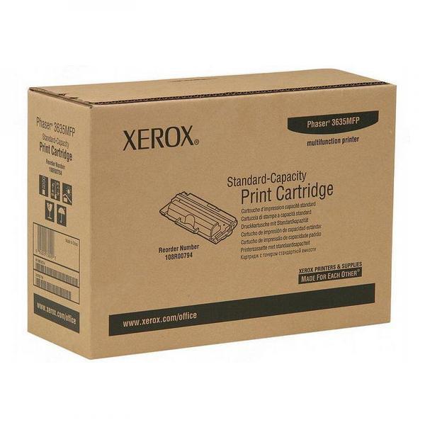Xerox originální toner 108R00794, black, 5000str., Xerox Phaser 3635 MFP